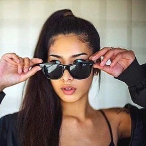New Ray-Ban 2140 54mm Blackish Green Sunglasses
